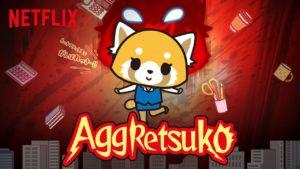 Aggretsuko banner